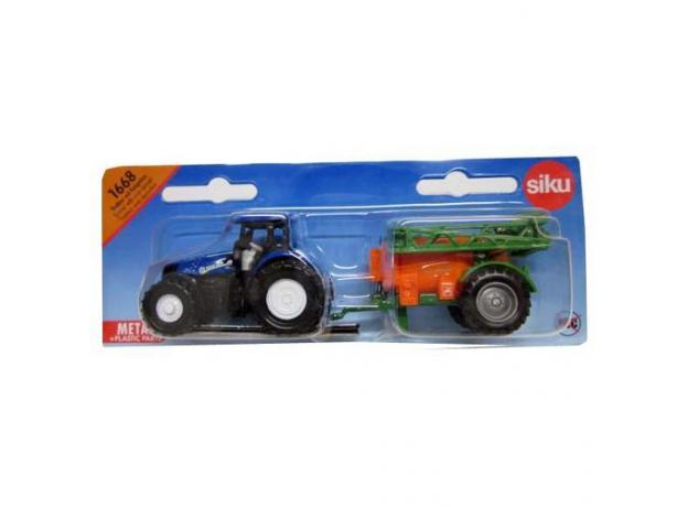 SIKU Трактор 1668, фото , изображение 3