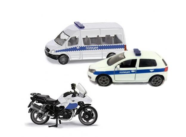 SIKU Набор машинок Полиция 1824RUS, фото , изображение 6
