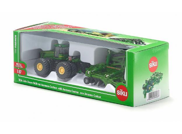 SIKU Трактор c прицепом-пугом  (1:87) 1856, фото , изображение 5