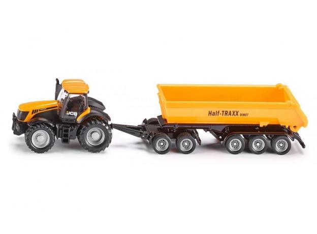 SIKU Трактор с прицепом-кузовом, желт. (1:87) 1858, фото , изображение 2