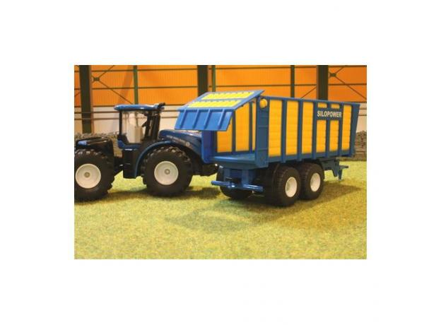 SIKU Трактор с прицепом 1947, фото , изображение 3
