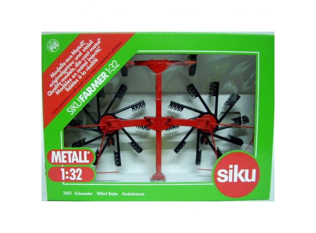 SIKU Прицеп - рыхлитель 2452, фото , изображение 4