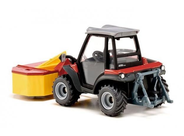 SIKU Трактор с косилкой Aebi TerraTrac TT211 (1:32) 3068, фото , изображение 2