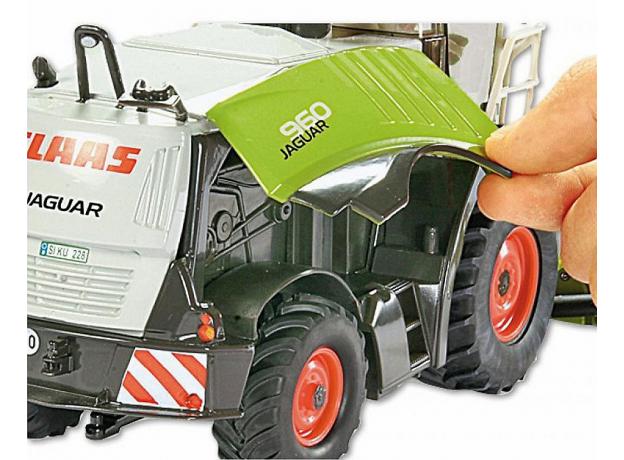 SIKU Комбайн для сборки кукурузы (1:32) 4059, фото , изображение 5