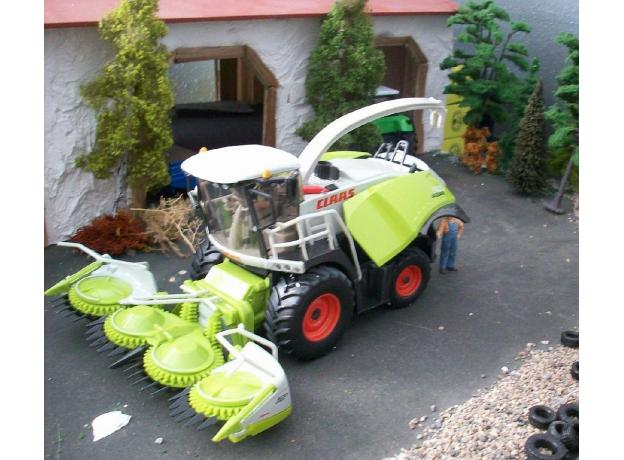 SIKU Комбайн для сборки кукурузы (1:32) 4059, фото , изображение 7