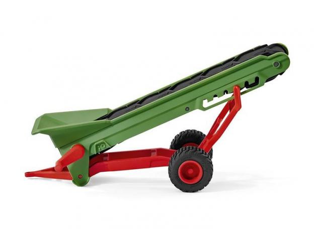 SCHLEICH Фермер и прицеп-конвеер для сена 42377, фото , изображение 2