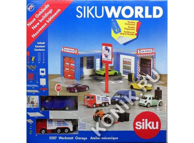 SIKU Набор Автосервис 5507, фото , изображение 4