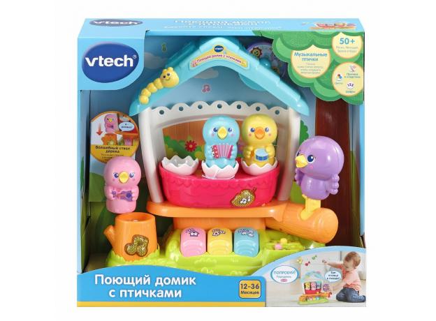 VTECH Поющий домик с птичками 80-522427, фото , изображение 2