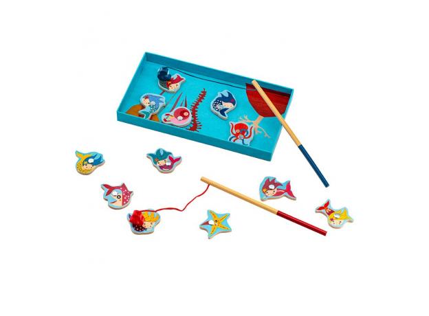 DJECO Игра Магнитная Поймай русалочку 01658, фото , изображение 3