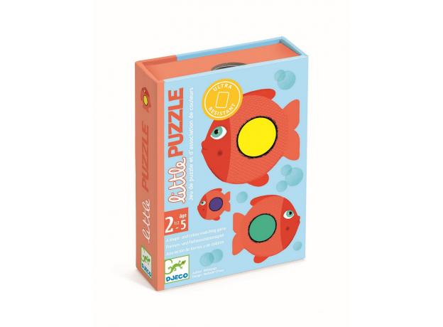 """DJECO Детская карточная игра """"Пазл"""" 05060, фото , изображение 2"""