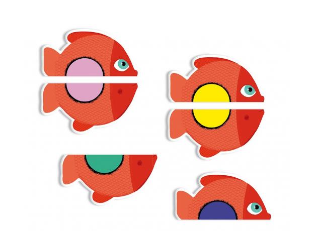 """DJECO Детская карточная игра """"Пазл"""" 05060, фото , изображение 3"""