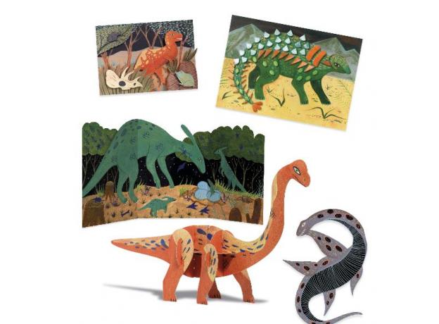 DJECO Набор для творчества Динозавр 09331, фото , изображение 8