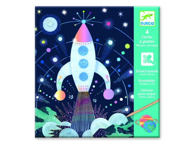 DJECO Набор для творчества «Космическая миссия» 09728, фото , изображение 2