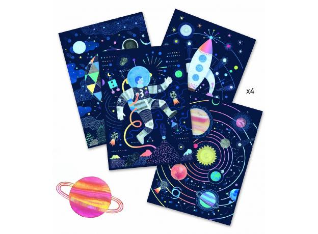 DJECO Набор для творчества «Космическая миссия» 09728, фото , изображение 3