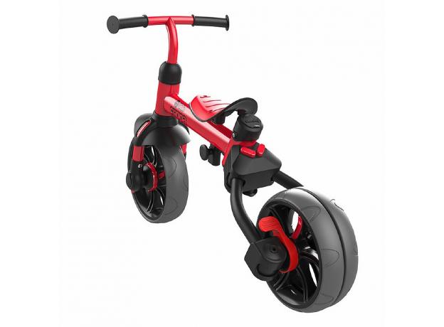 YVolution Беговел-велосипед 4 в 1 YVelo Flippa красный 101186, фото , изображение 2