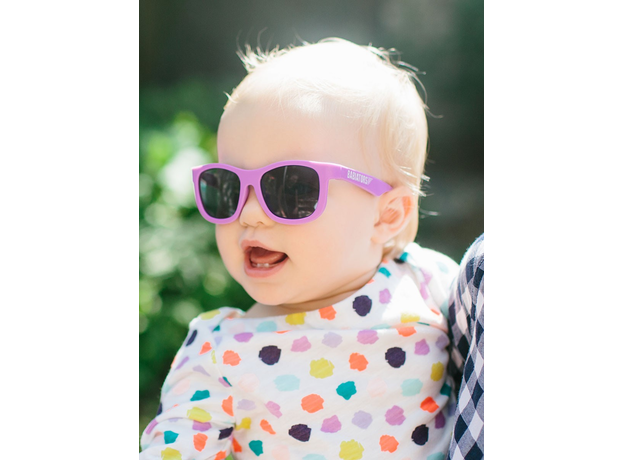 С/з очки Babiators Original Navigator. Фиолетовое царство (Purple Reign). Junior (0-2). Арт. NAV-005, фото , изображение 10