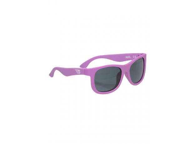 С/з очки Babiators Original Navigator. Фиолетовое царство (Purple Reign). Junior (0-2). Арт. NAV-005, фото , изображение 3