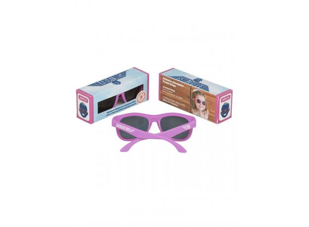 С/з очки Babiators Original Navigator. Фиолетовое царство (Purple Reign). Junior (0-2). Арт. NAV-005, фото , изображение 4