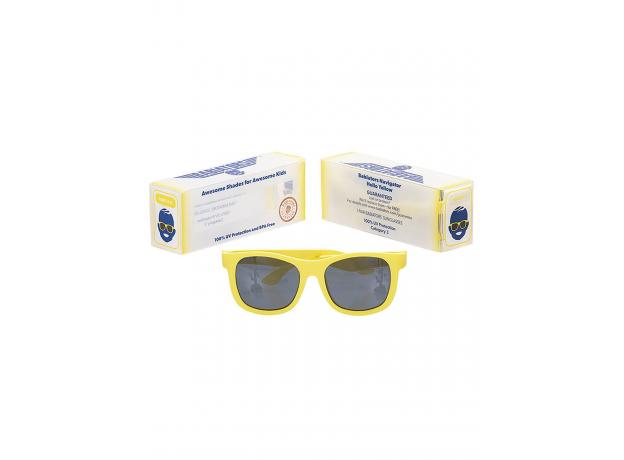С/з очки Babiators Original Navigator. Жёлтый мак (Poppy Yellow). Classic (0-2). Арт. NAV-017, фото , изображение 3