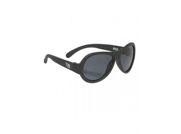 С/з очки Babiators Original Aviator. Чёрный спецназ (Black Ops). Junior (0-2). Арт. BAB-001, фото , изображение 4