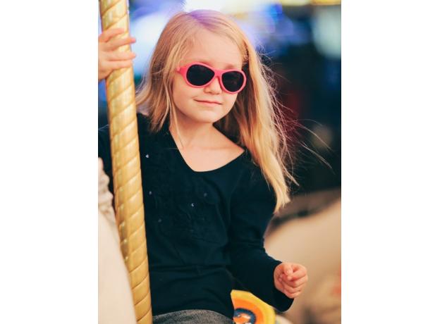 С/з очки Babiators Original Aviator. Попсовый розовый (Popstar Pink). Junior (0-2). Арт. BAB-044, фото , изображение 17