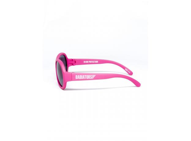 С/з очки Babiators Original Aviator. Попсовый розовый (Popstar Pink). Junior (0-2). Арт. BAB-044, фото , изображение 3