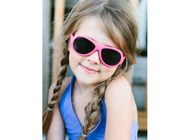 С/з очки Babiators Original Aviator. Попсовый розовый (Popstar Pink). Junior (0-2). Арт. BAB-044, фото , изображение 9