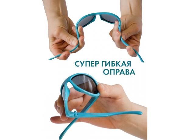 С/з очки Babiators Original Keyhole. Секретная операция (Black Ops Black). Чёрные. Дымчатые. Junior, фото , изображение 7