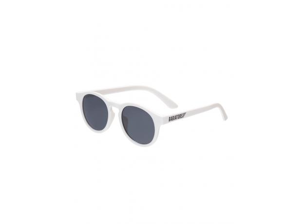 С/з очки Babiators Original Keyhole. Шаловливый белый (Wicked White). Белые. Дымчатые. Junior (0-2)., фото , изображение 2