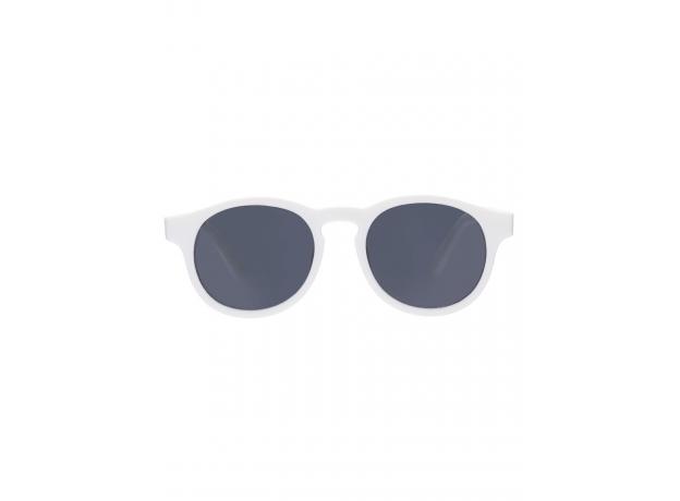 С/з очки Babiators Original Keyhole. Шаловливый белый (Wicked White). Белые. Дымчатые. Junior (0-2)., фото , изображение 3