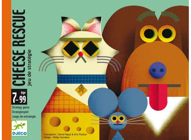 DJECO Детская наст.карт. игра Найди сыр 05149, фото , изображение 2