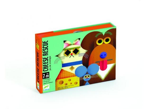 DJECO Детская наст.карт. игра Найди сыр 05149, фото , изображение 3