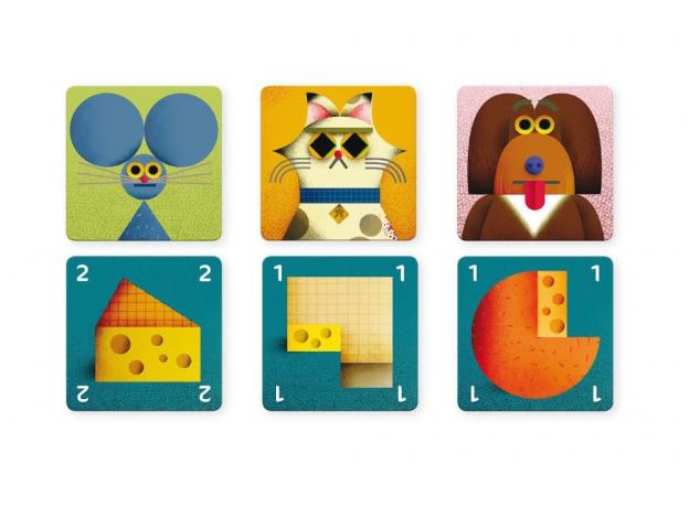 DJECO Детская наст.карт. игра Найди сыр 05149, фото