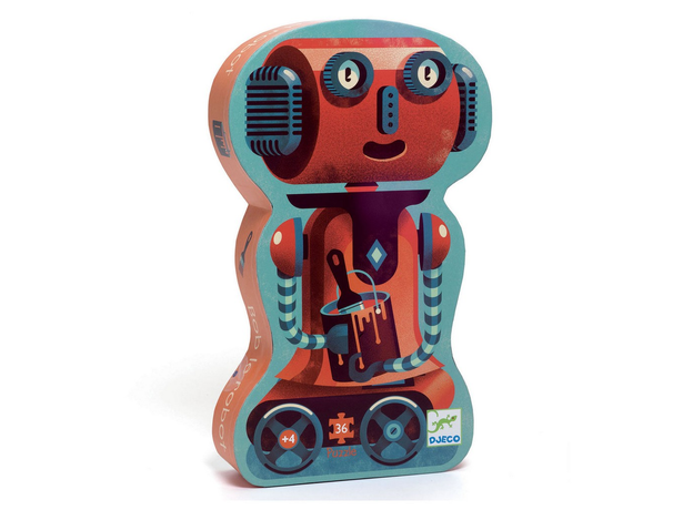 DJECO Пазл Робот 07239, фото