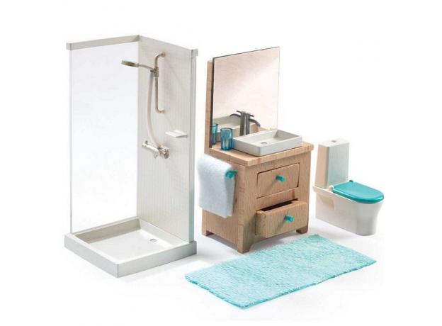 DJECO Мебель для кукольного дома Ванна 07825, фото