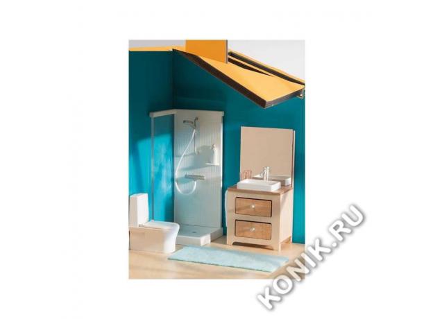 DJECO Мебель для кукольного дома Ванна 07825, фото , изображение 2