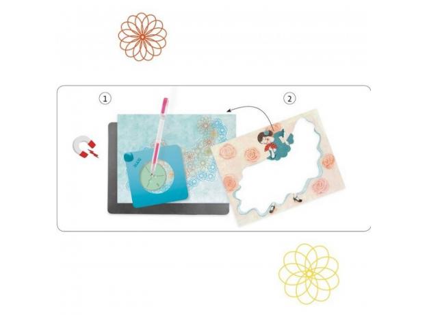 DJECO Набор для творчества Волшебные круги 08737, фото , изображение 3