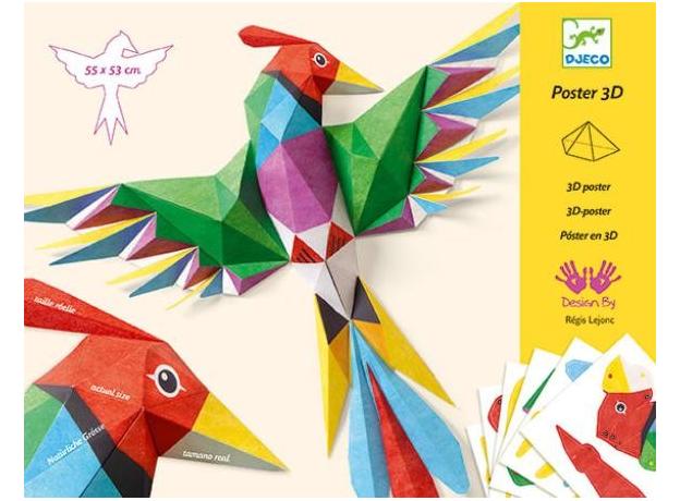DJECO Набор для творчества Птицы 09448, фото