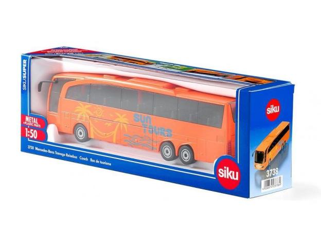 SIKU Автобус Mercedes Benz Travego 3738, фото , изображение 2