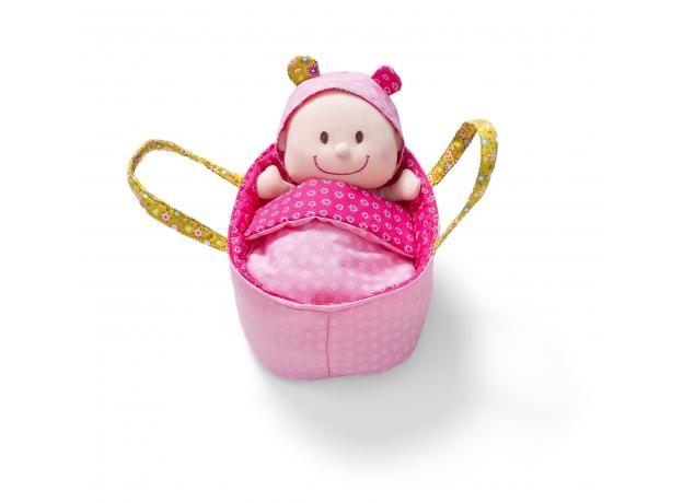 Мягкая куколка в переноске Lilliputiens, фото