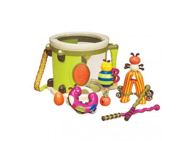 Набор звуковых игрушек B.Toys (Battat) «ПАРАМ-ПАМ-ПАМ», фото
