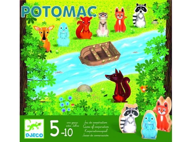 DJECO Настольная игра Потомак 08407/20, фото