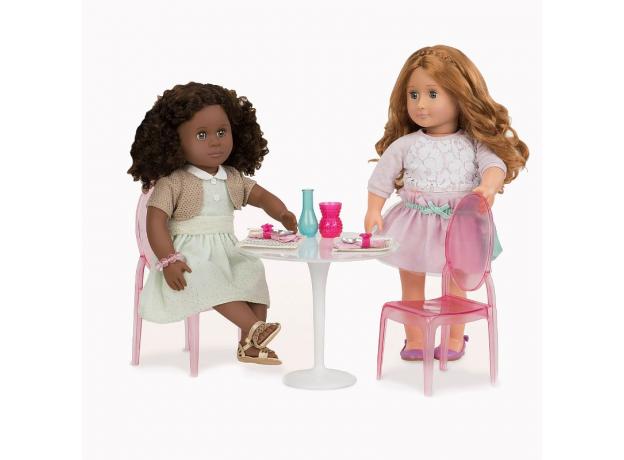 Набор Our Generation «Стол и два стула» для куклы 46 см, фото , изображение 3