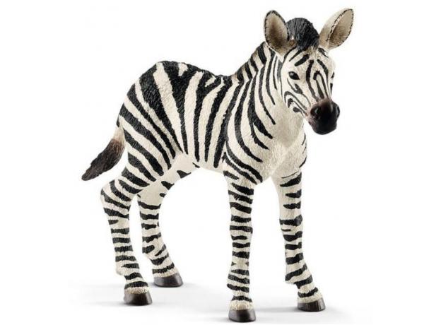 SCHLEICH Жеребенок зебры 14812, фото