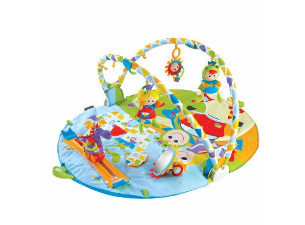 Развивающий коврик Yookidoo «Страна сказок», круглый с дугами, фото