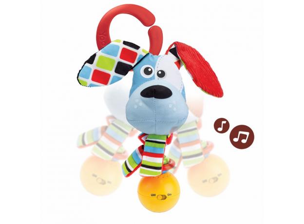 Музыкальная погремушка Yookidoo «Щенок», фото