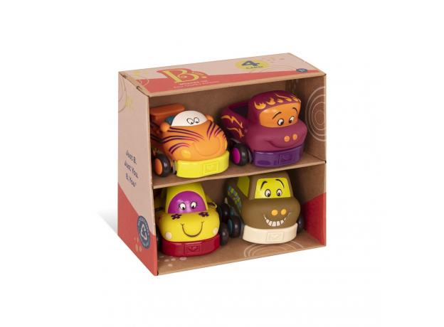 68621-4 Набор из 4 игрушечных машинок, фото , изображение 4