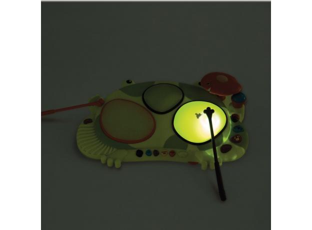 Музыкальная игрушка мульти-барабан B.Toys (Battat) «Лягушка», фото , изображение 2