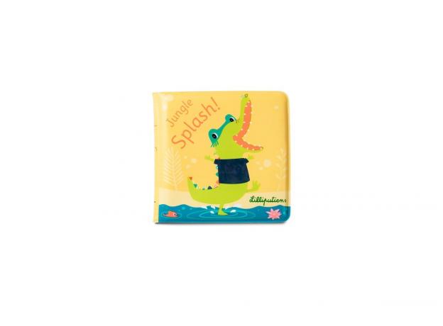 Книжка для ванны волшебная Lilliputiens «Крокодил Анатоль», фото , изображение 8