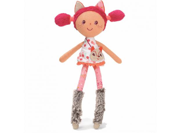 Мягкая цирковая кукла Алиса Lilliputiens, маленькая, фото